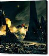 Dark Planet Canvas Print by Bob Orsillo