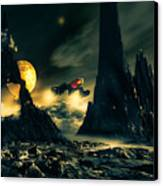 Dark Planet Canvas Print by Bob Orsillo