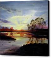 Dawn Canvas Print by Jane Autry