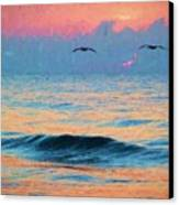 Dawn Patrol Canvas Print by JC Findley