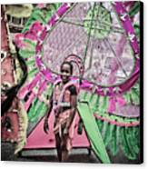 Dc Caribbean Carnival No 14 Canvas Print by Irene Abdou