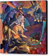 Death Awaits Canvas Print by David Matthews