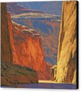 Deep In The Canyon Canvas Print by Cody DeLong