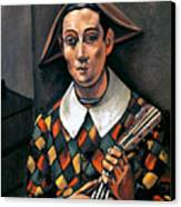 Derain: Harlequin, 1919 Canvas Print by Granger