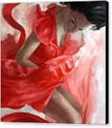 Descension Canvas Print by Steve Goad