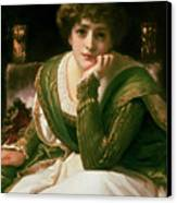 Desdemona Canvas Print by Frederic Leighton
