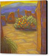 Desert Rose Canvas Print by Marcia  Hero