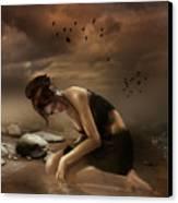 Desolation Canvas Print by Mary Hood