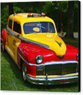 Desoto Skyview Taxi Canvas Print by Garry Gay