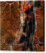 Destiny Tangos Con Chance En El Salon De Eternidad Canvas Print by Kenneth Armand Johnson