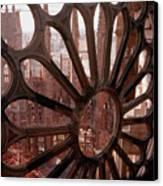 Detail Of La Sagrada Familia, Barcelona, Spain Canvas Print by Tobias Titz
