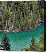 Diabolo Lake North Cascades Np Wa Canvas Print by Christine Till