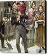 Dickens: A Christmas Carol Canvas Print by Granger