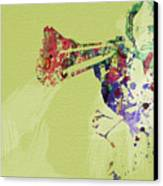 Dirty Harry Canvas Print by Naxart Studio