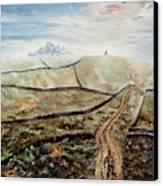 Distant Journey Canvas Print by Richard Barham