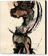 Doberman Canvas Print by Mark M  Mellon