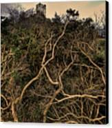 Dolwyddelan Castle Canvas Print by Meirion Matthias