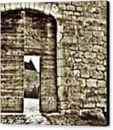 Door To Salvation Canvas Print by Paul Topp
