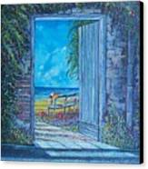 Doorway To ... Canvas Print by Sinisa Saratlic