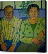 Dottie And Jerry Canvas Print by Debra Robinson