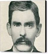 Dr. John H. Holliday 1851-1887 Was An Canvas Print by Everett