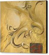 Dragon Double Happiness Canvas Print by Dina Dargo