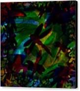 Dragonfly Canvas Print by Rachel Christine Nowicki