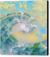 Dream Wave Canvas Print by Linda Sannuti