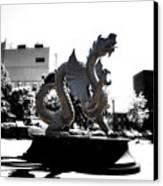 Drexel Dragon Canvas Print by Bill Cannon