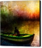 Drifting Into The Light Canvas Print by Bob Orsillo