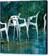 Drip Dry Canvas Print by Elizabeth Carr