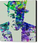 Duke Ellington Canvas Print by Naxart Studio