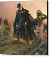 Duke Of Angouleme At The Capture Of Trocadero Canvas Print by Hippolyte Delaroche