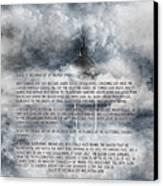 Dulce Et Decorum Est Canvas Print by Kevin  Sherf