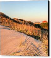 Dunes Of Fire Island Canvas Print by JC Findley