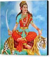 Durga Devi  Canvas Print by Kalpana Talpade Ranadive