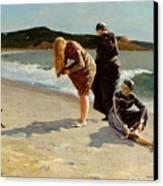Eagle Head Manchester Massachusetts Canvas Print by Winslow Homer