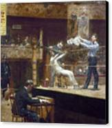 Eakins: Between Rounds Canvas Print by Granger