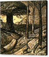 Early Morning Canvas Print by Samuel Palmer