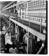 Edison Sault Power Plant At Sault Ste Canvas Print by Everett