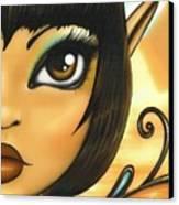 Egyptian Fairy Canvas Print by Elaina  Wagner