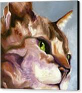 Egyptian Mau Princess Canvas Print by Susan A Becker