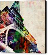Eiffel Tower Canvas Print by Michael Tompsett