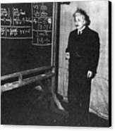 Einstein At Princeton University Canvas Print by Science Source