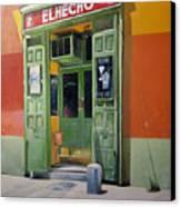 El Hecho Pub Canvas Print by Tomas Castano