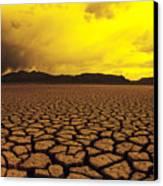 El Mirage Desert Canvas Print by Larry Dale Gordon - Printscapes
