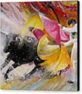 Elegance Canvas Print by Miki De Goodaboom