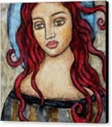 Eloise Canvas Print by Rain Ririn