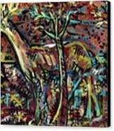 Elusive Canvas Print by Robert Wolverton Jr