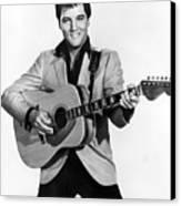 Elvis Presley, C. Mid-1960s Canvas Print by Everett